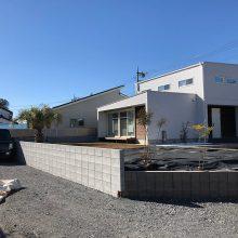 フェンスとブロックで境界工事 NO.1059の施工写真0