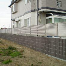 隣地境界に塀を施行 NO.1053の施工写真