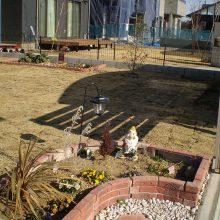 雑草対策で天然芝を NO.1050の施工写真1