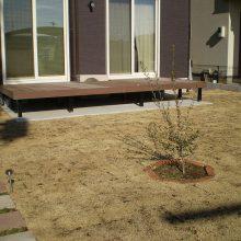 雑草対策で天然芝を NO.1050の施工写真0