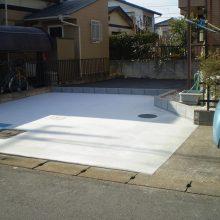 土間コンクリートですっきり NO.1051の施工写真1