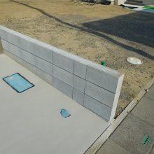 広い駐車場とサイクルポート NO.1061の施工写真1