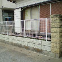 塀の修復工事 NO.1068の施工写真メイン