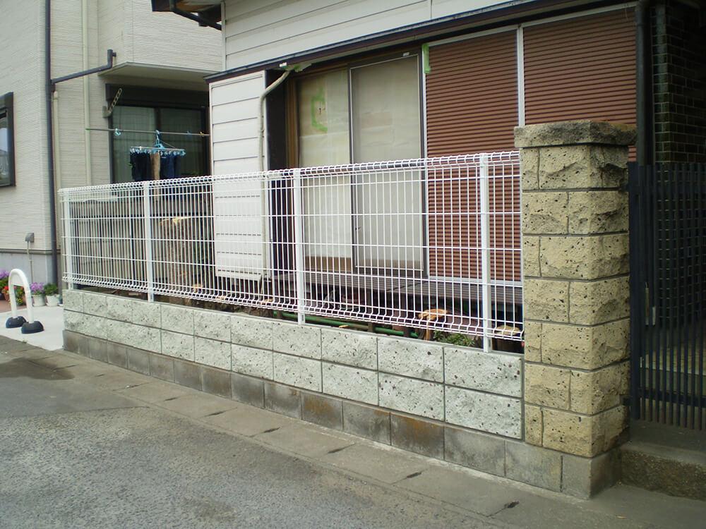 塀の修復工事 NO.1068