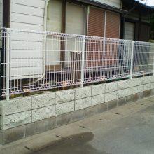 塀の修復工事 NO.1068の施工写真1