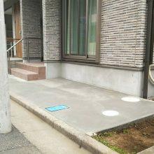 駐輪場を設置 NO.1074の施工写真1