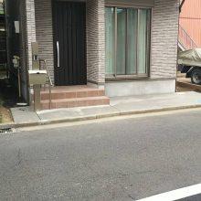 駐輪場を設置 NO.1074の施工写真2