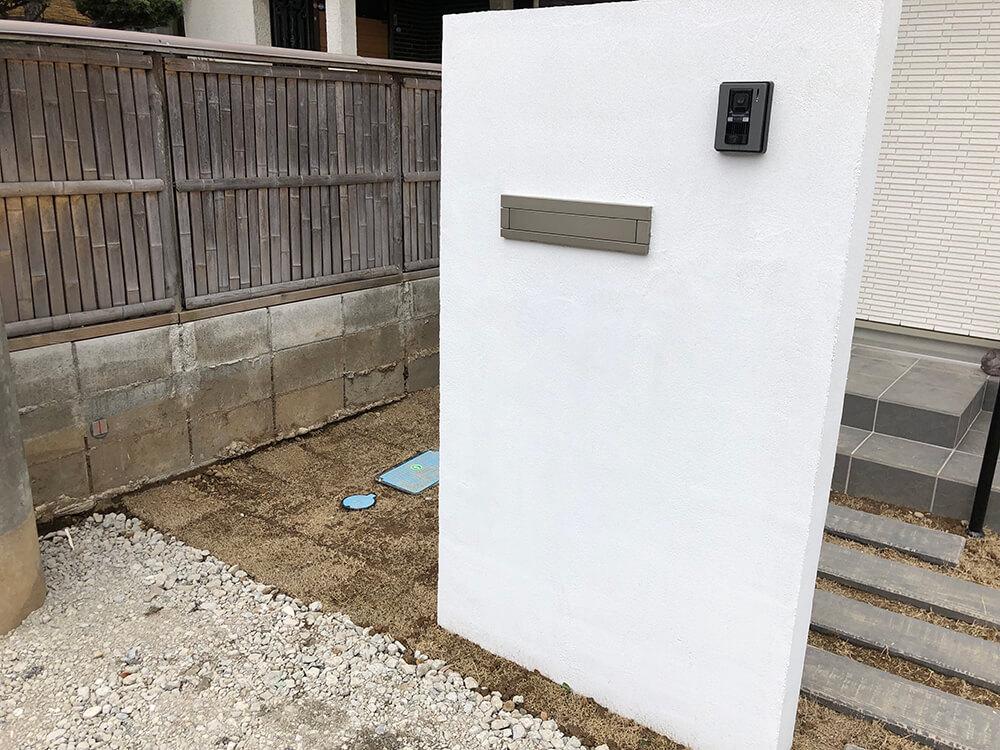 門扉はシンプルに NO.1075