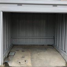 バイクガレージはイナバ製品 NO.1100の施工写真2