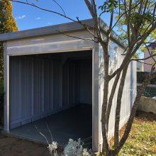 ガレージを設置 NO.1081の施工写真1