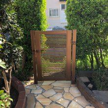 お庭を石貼りでリフォーム NO.1093の施工写真1
