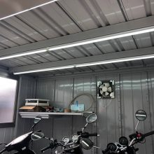 バイクガレージで愛車を格納  NO.1095の施工写真3