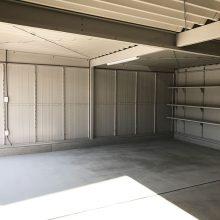 2連棟のガレージ NO.1107の施工写真1