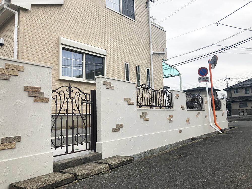 門塀をオシャレに NO.1104