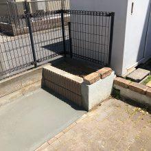 花壇を撤去 NO.1112の施工写真1