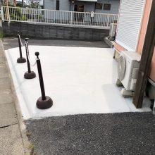 駐車場拡大工事 NO.1120の施工写真メイン