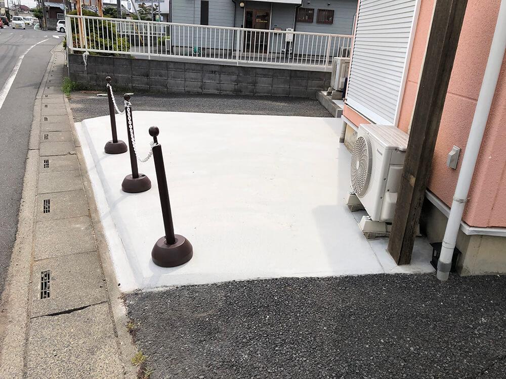 駐車場拡大工事 NO.1120