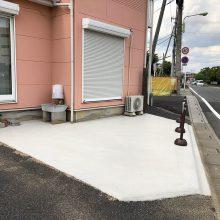 駐車場拡大工事 NO.1120の施工写真1