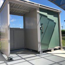 門扉と伸縮門扉でセミクローズ外構 NO.1126の施工写真3