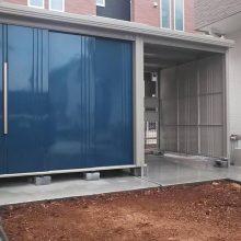 田窪の物置・駐輪場 NO.1140の施工写真2