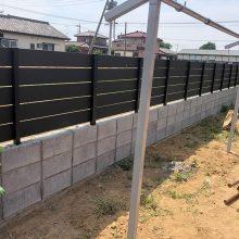 フェンスと土間工事 NO.1155の施工写真メイン