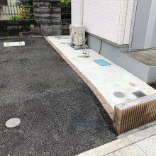 建物廻りに土間コンクリート NO.1152の施工写真2