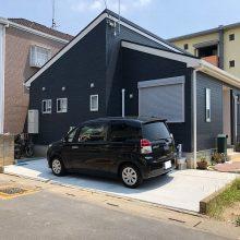 駐車場の土間コンクリート工事 NO.1157の施工写真1