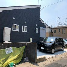 駐車場の土間コンクリート工事 NO.1157の施工写真3