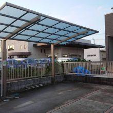 駐車場の目地とカーポート NO.1171の施工写真メイン