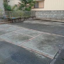 駐車場の目地とカーポート NO.1171の施工写真3