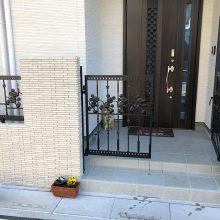 ディズニーのフェンスと門扉 NO.1175の施工写真1