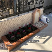 ディズニーのフェンスと門扉 NO.1175の施工写真3