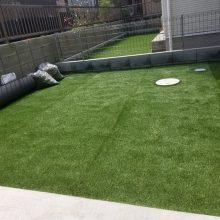 人工芝と植栽 NO.1199の施工写真3