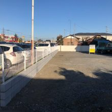 ブロックとフェンス NO.1197の施工写真2