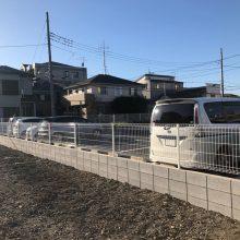ブロックとフェンス NO.1197の施工写真1