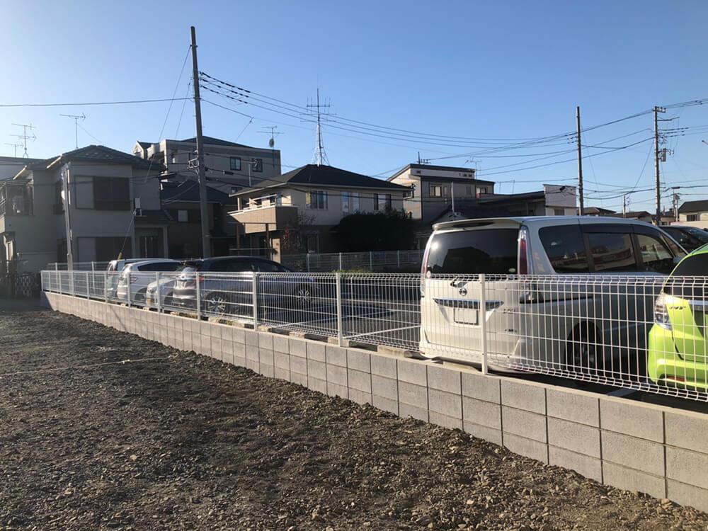 ブロックとフェンス NO.1197