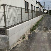 ブロックとフェンス NO.1194の施工写真3
