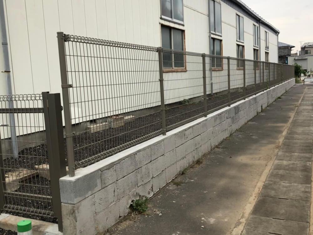 ブロックとフェンス NO.1195