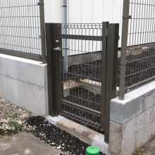 ブロックとフェンス NO.1195の施工写真1
