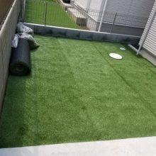 人工芝と植栽 NO.1199の施工写真2