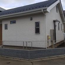 ブロック・フェンスと目隠しスクリーン NO.1189の施工写真2