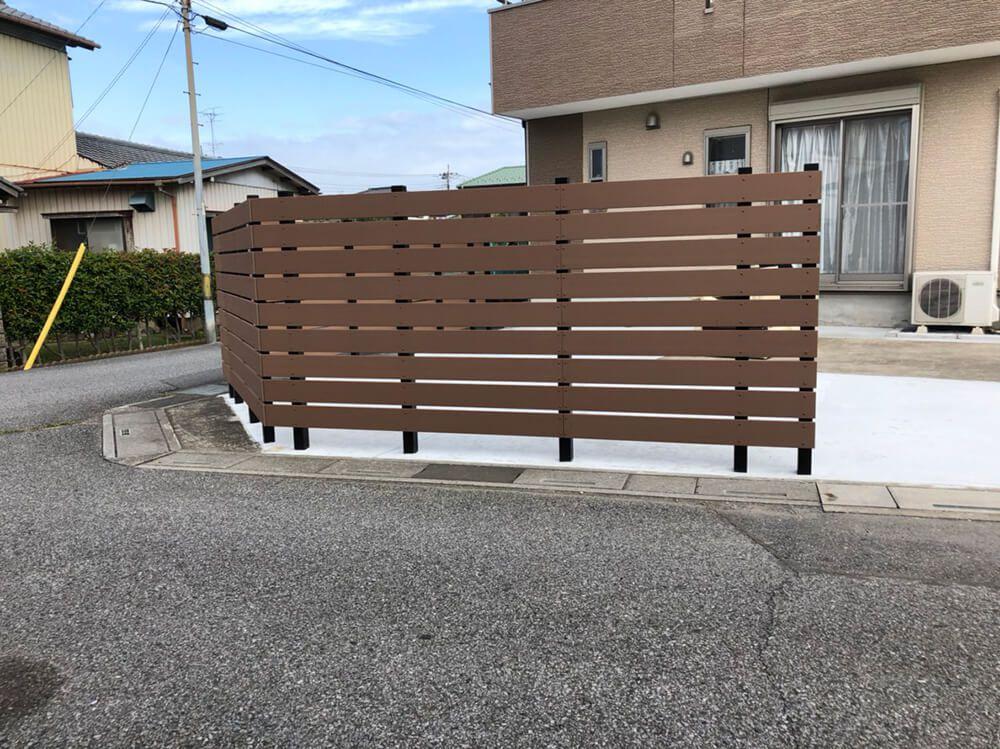 目隠しフェンス工事 NO.1217