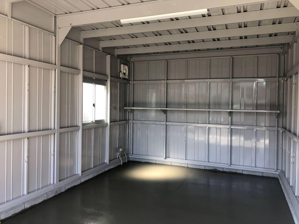 新築ガレージ工事 NO.1247の施工写真2