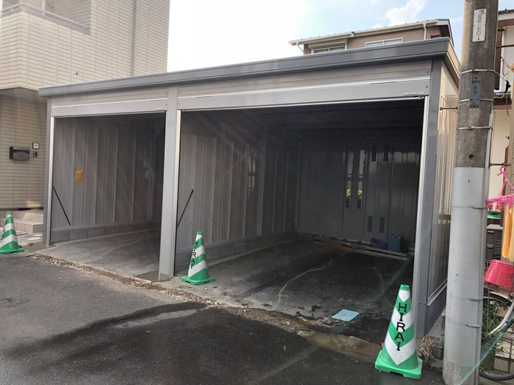 ガレージ工事 NO.1249の施工写真2