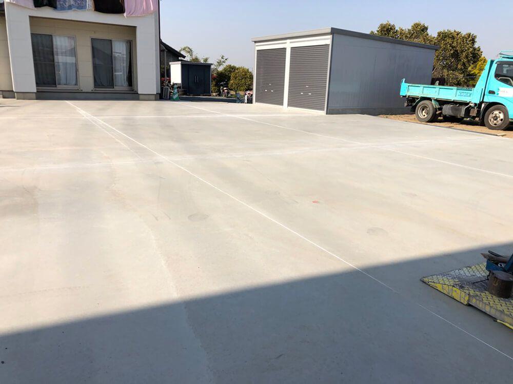 ガレージ・駐車場工事 NO.1246の施工写真メイン