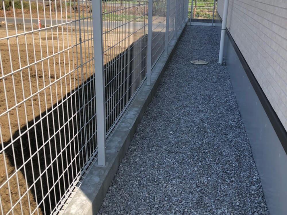 駐車場・フェンス工事 NO.1276の施工写真3