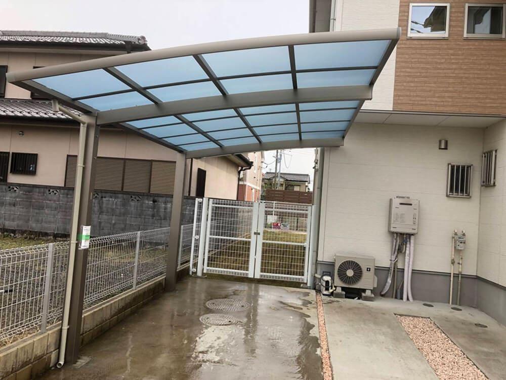 庭のフェンス工事 NO.1298の施工写真2
