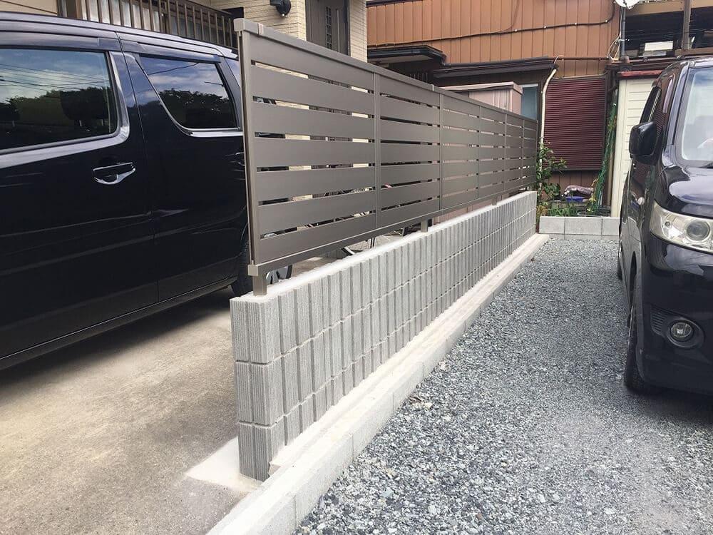 目隠しフェンス工事 NO.1305