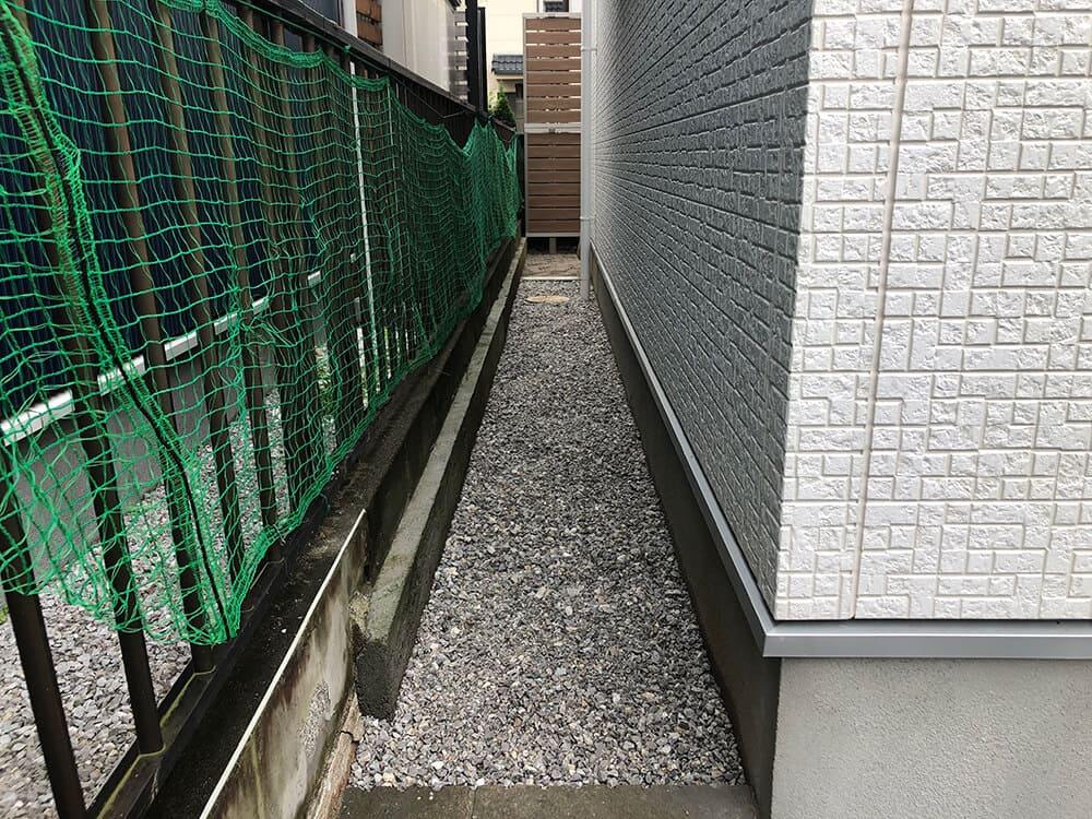 目隠しフェンス工事 NO.1297の施工写真1