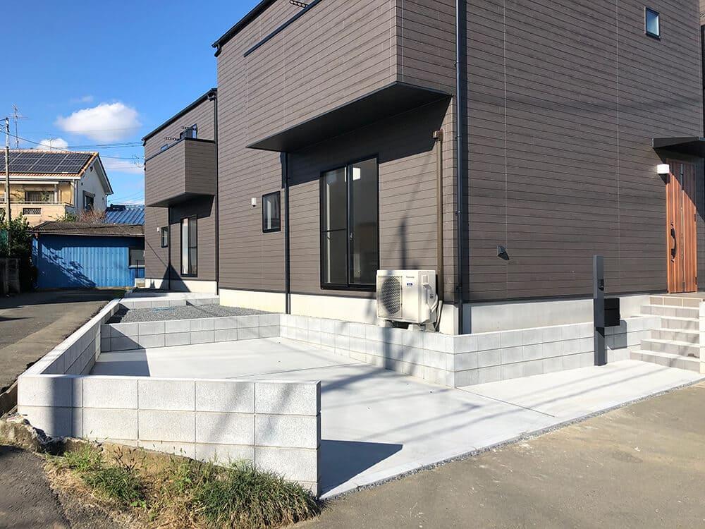 新築分譲住宅 NO.1293の施工写真1